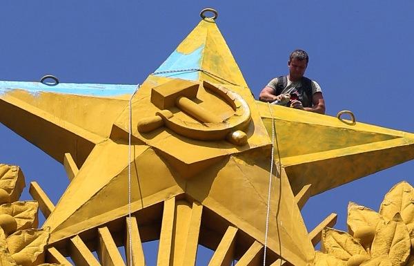 Высотка на Котельнической Набережной. История жилого дома, фото, знаменитые жильцы