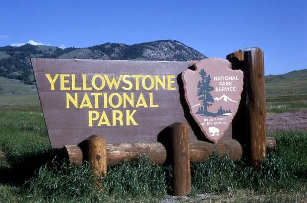 Йеллоустонский национальный парк на карте США. Достопримечательности, фото