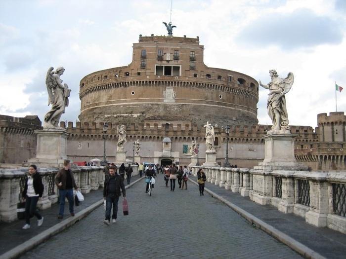 Замок Святого Ангела в Риме. Фото внутри, история, расположение, часы работы, билеты