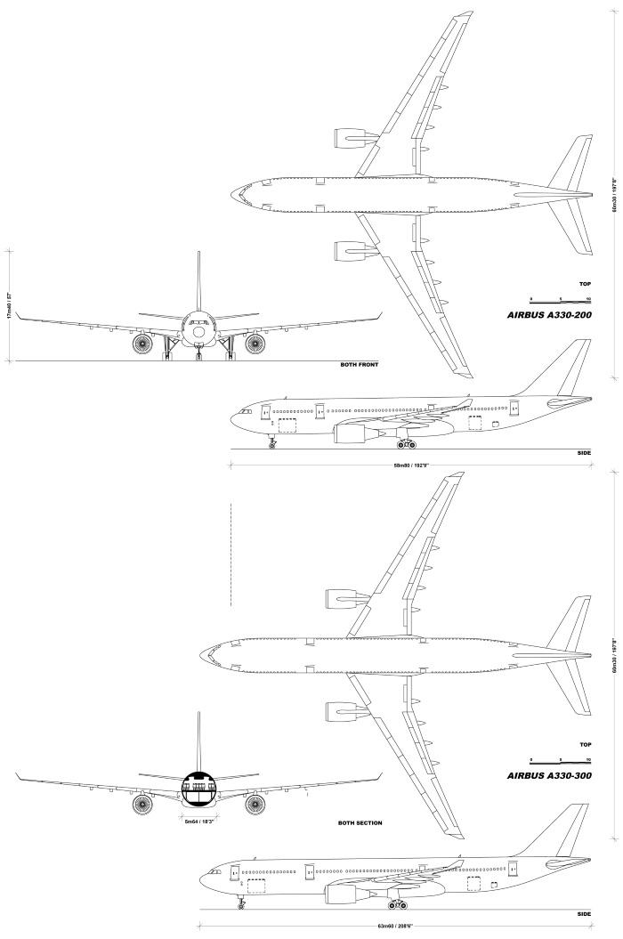 Airbus a330-300. Схема салона, расположение мест Аэрофлот, Finnair, Qatar Airways, China Fir, Revell, Cathay Pacific