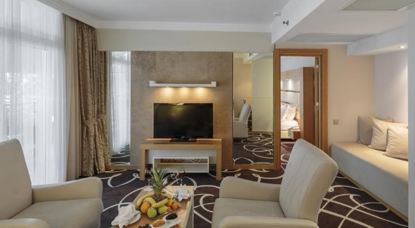 Отель Альва Донна Ворлд Палас 5* Кемер, Турция. Отзывы, фото, цены