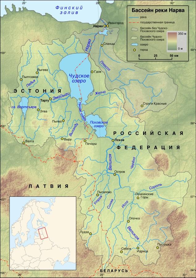 Чудское озеро. Где находится на карте, фото, границы, история, базы отдыха