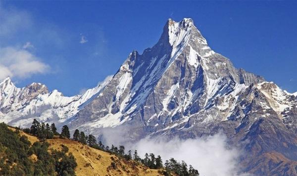 Гималайские горы. Где находятся на карте, высота, возраст, характеристики