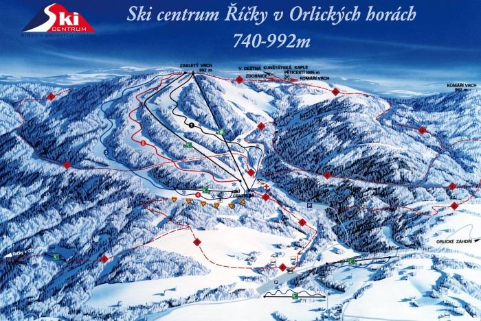 Горнолыжные курорты Чехии. Города на карте, спуски, горы, туры
