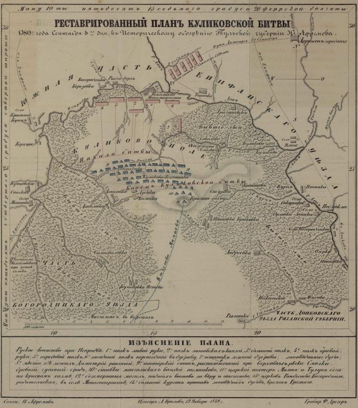 Куликово поле. Где находится на карте России, фото, история, музей заповедник