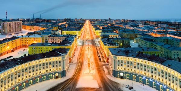 Норильск. Где находится на карте России, достопримечательности, фото города