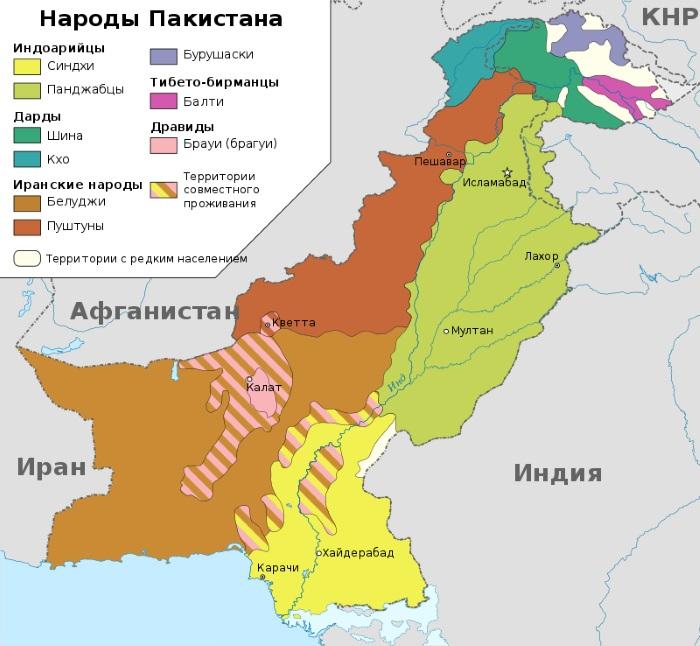 Пакистан. Где находится на карте мира, достопримечательности, фото с описанием