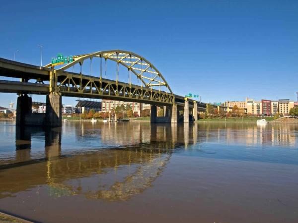 Питтсбург город в США на карте, фото, история, мосты, достопримечательности