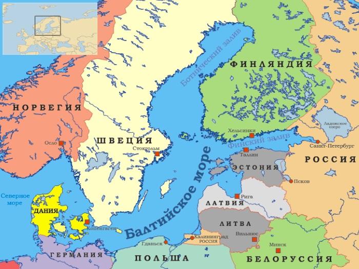 Самые маленькие моря в мире по площади, глубине Топ-10. Фото, где находятся