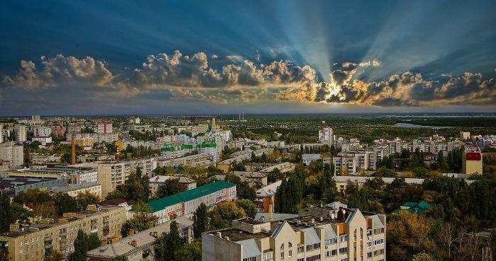 Тольятти на карте России с улицами и домами