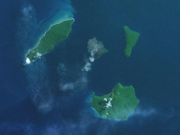 Вулкан Кракатау. Где находится на карте мира, фото, история извержений