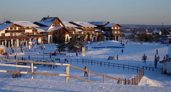 Яхрома - горнолыжный курорт в Подмосковье
