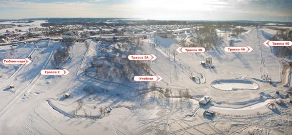 Яхрома, Московская область, горнолыжный курорт. Фото комплекса, адрес, цены