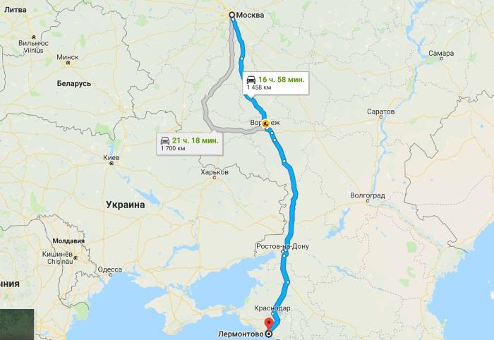 Лермонтово, Краснодарский край. Фото набережной, достопримечательности, отели и частный сектор
