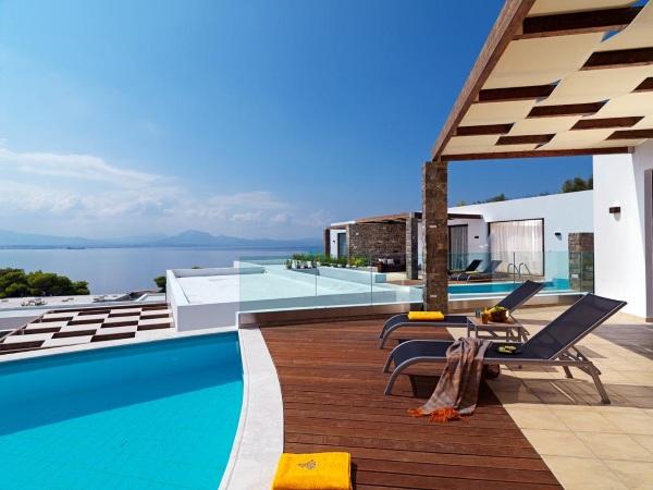 Лутраки, Греция. Отели с термальными источниками на карте. Фото, цены, отзывы