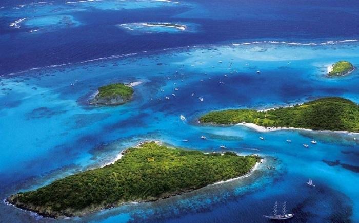 Острова Карибского бассейна на карте. Лучшие для отдыха, страны без визы для россиян