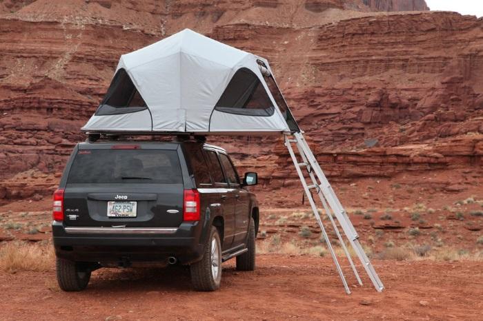 Палатка на крышу автомобиля. Цена, виды, какой купить. Обзор лучших. Как крепится
