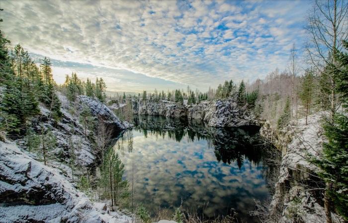 Горный парк Рускеала в Карелии. Базы отдыха, природа, что посмотреть туристу