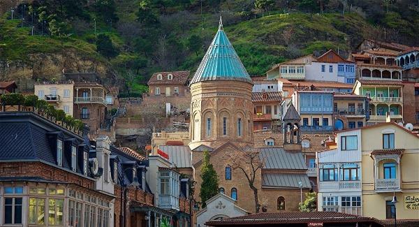 Тифлис, Грузия. Достопримечательности, путеводитель, карта, фото с описанием