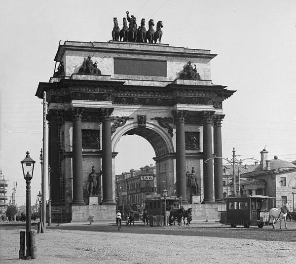 Триумфальная арка в Москве. Фото, факты, история создания, как добраться