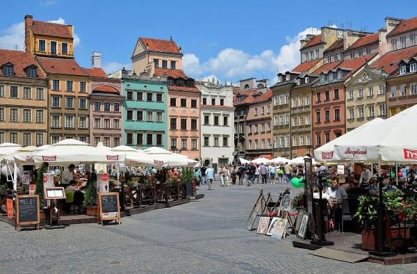 Варшава. Достопримечательности на карте, фото, что посмотреть за один день
