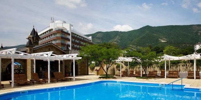 Alean Family Resort & SPA Biarritz 4* в Геленджике, Краснодарский край. Отзывы, фото, цены