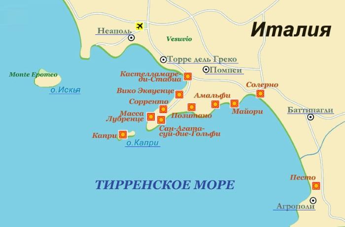 Амальфитанское побережье Италии. Где лучше остановится, фото, достопримечательности, отели