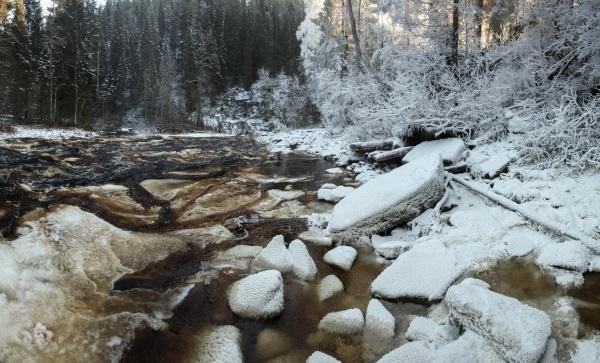 Водопад Белые мосты (Юканкоски) в Карелии. Фото, координаты на карте, как добраться, маршрут, чем уникален