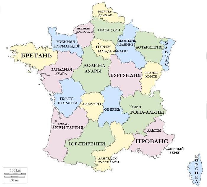 Бретань, Франция. Достопримечательности на карте города, фото, маршрут на автомобиле