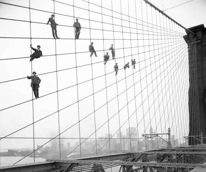 Бруклинский мост. Где находится на карте Нью-Йорк, фото, интересные факты