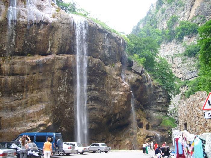 Чегемские водопады в Кабардино-Балкарии. Где находятся, фото, как доехать на машине