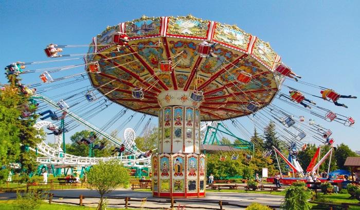 Детские парки развлечений в Санкт-Петербурге на улице, закрытые. Список, адреса, цены