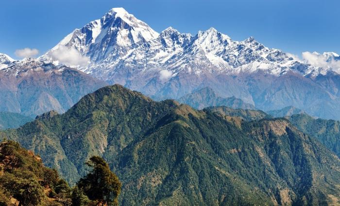 Горы Гималаи. Где находятся Гималаи?