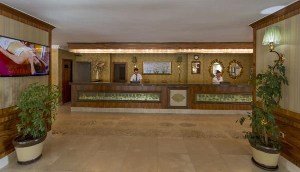 Отель Grand Santana 4* Аланья, Турция. Отзывы, фото, видео, цены
