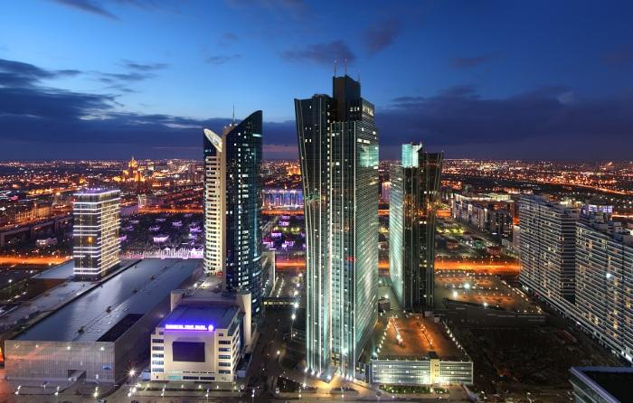 Изумрудный квартал в Нур-Султане, Казахстан. Фото, история, интересные факты