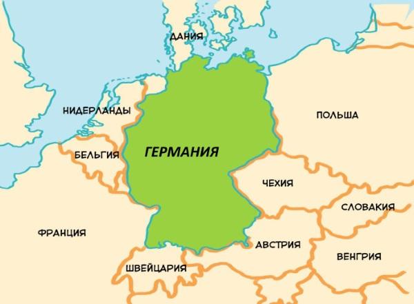 карте играть германии на