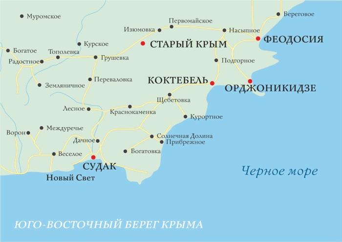 Самые интересные и красивые места для отдыха в Крыму. Курорты, горы, пляжи, природные достопримечательности