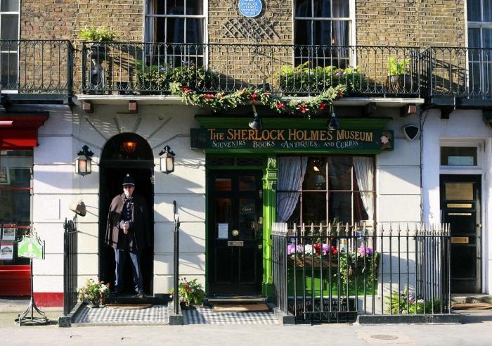 Музей Шерлока Холмса в Лондоне. Фото, где находится, экспонаты