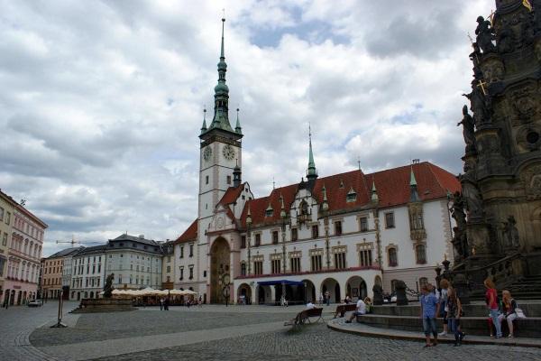 Оломоуц, Чехия. Достопримечательности на карте, фото, что посмотреть за день