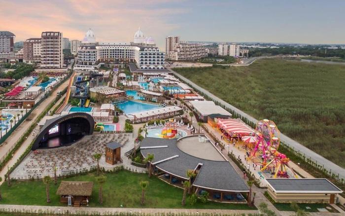 Лучшие отели Турции 4-5 звезд с подогреваемым бассейном. Алания, Белек, Кемер, Сиде. Цены и отзывы