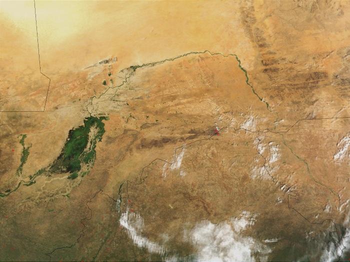 Топ-10 самые большие реки в Африке. Названия, где на карте, длина, характеристики