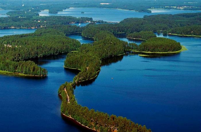 Самые большие озера в Европе по площади, запасам пресной воды. Список, характеристики