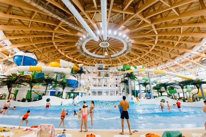 Самые лучшие и большие Аквапарки в России. Фото, где находятся