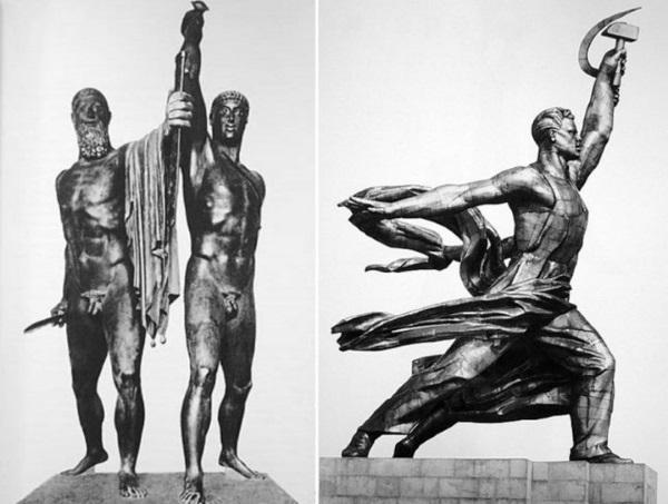 Статуя Рабочий и колхозница. Фото, где находится в Москве, история, интересные факты