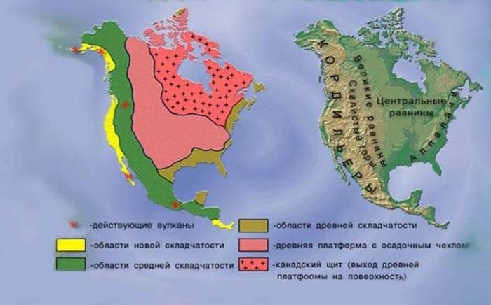 Великие равнины Северной Америки на карте мира. Географическое положение, высота, природа, фото, интересные факты