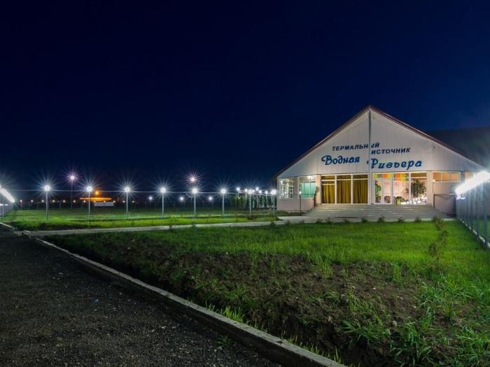 «Водная Ривьера» в Майкопе, Адыгея. Термальные источники, база отдыха, услуги, цены и отзывы