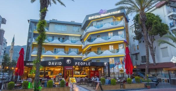 Arsi Enfi City Beach Hotel 4* Алания, Турция. Отзывы, фото отеля, видео, цены