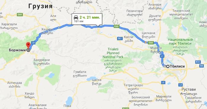 Боржоми, Грузия. Достопримечательности на карте, фото, санатории, отдых, что посмотреть за день