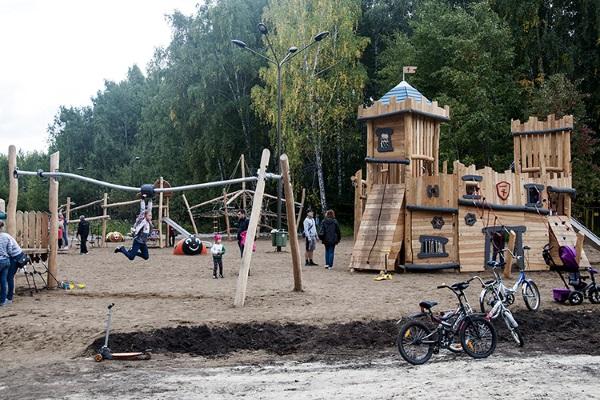 Экопарк Затюменский в Тюмени. Фото, где находится, адрес, интересные факты