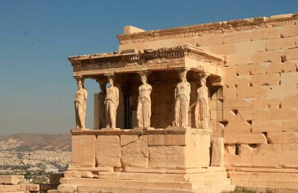 Эрехтейон афинский акрополь. Фото, описание, история, интересные факты